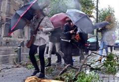 Cod galben de ploi, vijelii și grindină în cea mai mare parte a țării