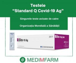 "TESTELE ""STANDARD Q COVID-19 AG"""