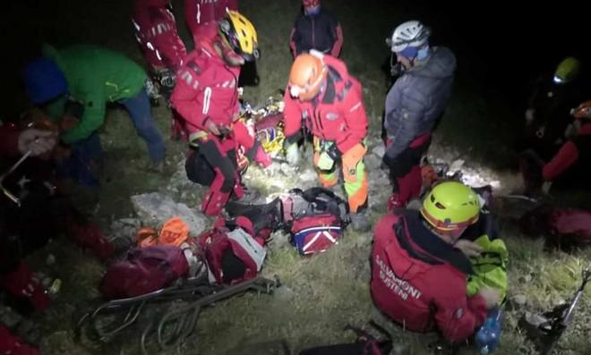 Doi barbati au fost raniti grav pe un traseu din Bucegi dupa ce au cazut in gol. Au fost preluati de elicopterul SMURD