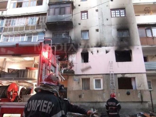 ALERTA! Explozie intr-un apartament din Ploiesti