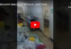 Spitalul Judeţean Ploieşti, locul groazei pentru bolnavi. Oamenii, ţinuţi ca în lagărele de concentrare?/ VIDEO
