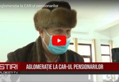 CAR-ul pensionarilor, luat cu asalt de bătrânii cu posibilităţi financiare reduse/ VIDEO