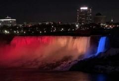 Cascada Niagara va fi iluminată în culorile drapelului românesc, pe 1 Decembrie