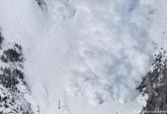 Atenţie! Risc mare de producere de avalanşă pe domeniul schiabil Sinaia