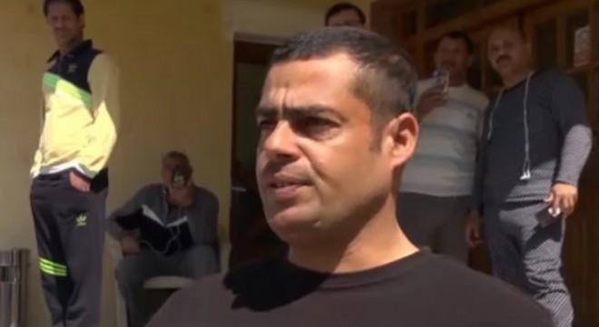 Egipteanul care a incendiat casa de schimb valutar protesta în vară în fața Palatului de Justiție din Ploiești. Se văita că nu și-a mai primit salariul de la angajator
