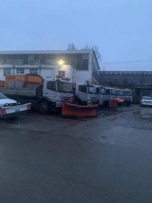 Ninge ca in povesti peste Ploiesti! Primaria, pregatita pentru deszapezire