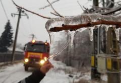 Evul mediu! Aproape 4.000 de gospodării din Prahova au rămas fără energie electrică, din cauza ninsorii