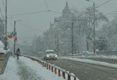Prognoza meteo. Ger şi ninsori slabe în următoarele zile