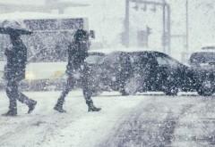 Alertă meteo COD GALBEN de ninsori viscolite în sudul ţării. Este vizat şi Bucureştiul