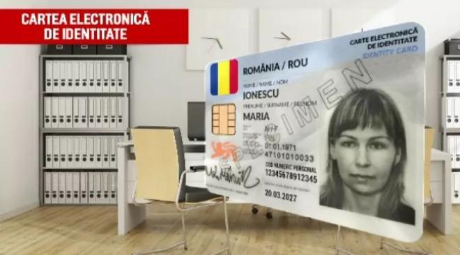 Românii vor avea buletine electronice cu cip începând din august. Anunțul ministrului Cercetării