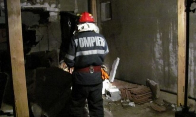 Explozie in Magurele, sat Coada Malului. Un barbat a suferit arsuri grave in urma exploziei unei butelii