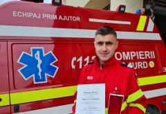 "Un tanar pompieri de la ISU Prahova a primit de la Klaus Iohannis Medalia Nationala ""Pentru Merit"""