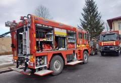 Pompierii prahoveni au recepționat o autospeciala pentru stingerea incendiilor de padure