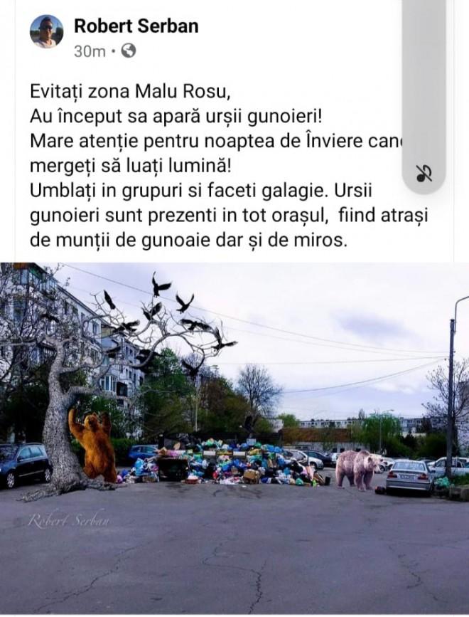 Haz de necaz! Criza salubritatii din Ploiesti, subiect de mistouri pe Facebook