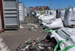 Alte 30 de containere cu deseuri care trebuiau sa ajunga in Prahova, descoperite in portul Constanta. Seful Garzii de Mediu acuza crima organizata
