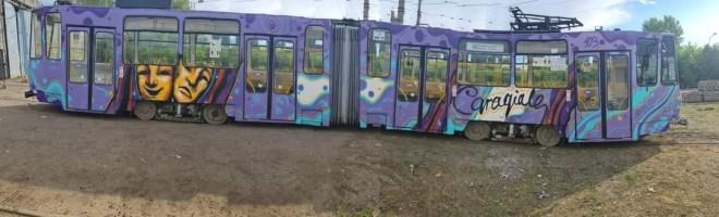 Primarul Volosevici anunta ca toate tamvaiele vor fi pictate personalizat de un tanar din Ploiesti
