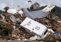 Asa se intampla cand smecherii Europei ne tin, intentionat, saraci! Români și bulgari au fost prinși la furat în zonele afectate de inundații din Germania