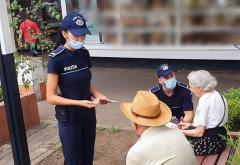 Ploiesti/ Actiune a Politiei si Jandarmeriei. Sute de pensionari au primit pliante cu informatii si sfaturi despre cum sa se fereasca de escroci
