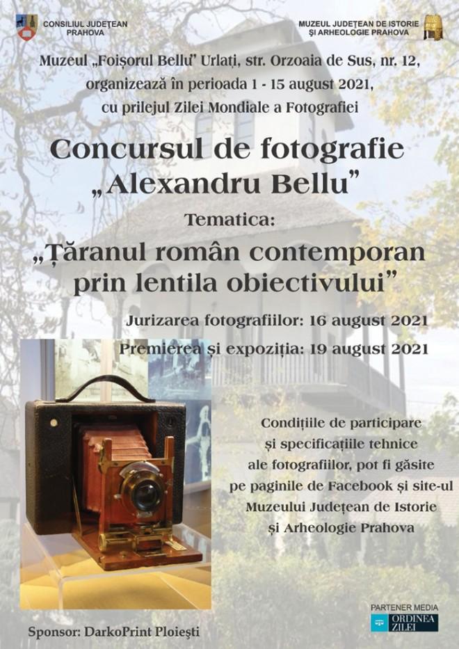 Concurs de fotografie organizat de Muzeul Foișorul Bellu - Urlați