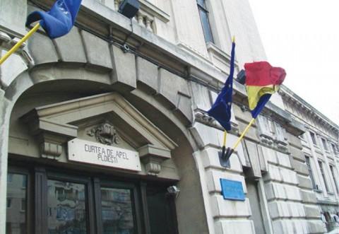 Activitatea a trei compartimente de la Curtea de Apel Ploieşti, suspendată în perioada 16 august - 2 septembrie