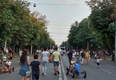 Cum s-au distrat ploiestenii in weekend, pe Bulevardul Castanilor. Ce a pregatit Primaria pentru sfarsitul de saptamana