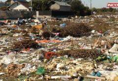 Gropi ilegale de gunoi în Bereasca. Garda de Mediu face pânde pentru prinderea celor care abandonează deșeuri pe spațiul public