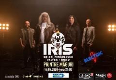 Concert IRIS, la Măgureni-Prahova, pe 17 septembrie
