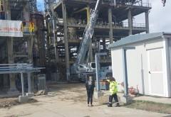Garda de Mediu, in control la Lukoil dupa incendiul de marti