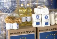 Pachetele cu produse alimentare - ajutoare UE - se distribuie la Ploiesti pana pe 1 noiembrie