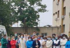 Protest spontan al Secției Neurologie de la Spitalul Județean de Urgență Ploiești