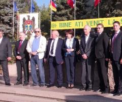 Mircea Cosma a sprijinit infratirea comunelor Gorgota si Cenac FOTO