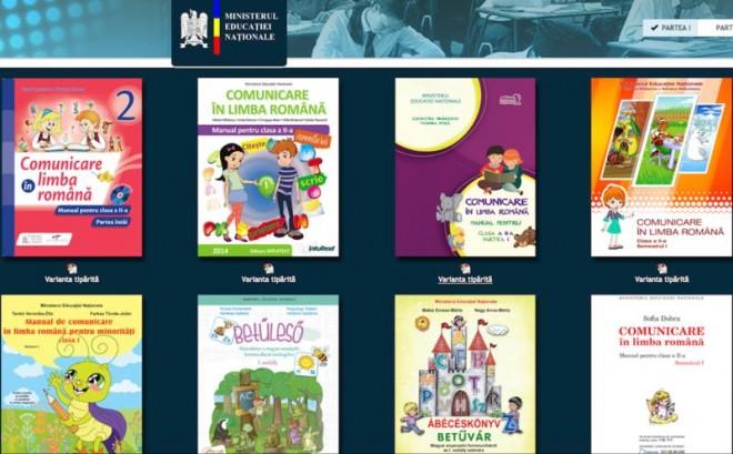 Descarca DE AICI manualele in format .pdf pentru clasele I si a II-a care vor fi in varianta print pe bancile elevilor