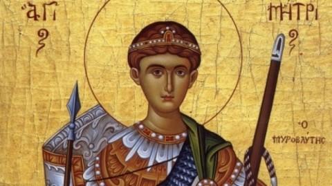 SFÂNTUL DUMITRU. Tradiţii şi obiceiuri de Sf. Dumitru Izvorătorul de Mir