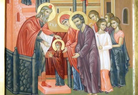 Intrarea Maicii Domnului în Biserică. Ce simbolizează această sărbătoare