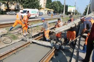 Șantierul pentru reabilitarea liniilor de tramvai din Ploiești, prădat de hoți. Află ce au furat