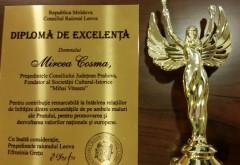 I-au fost recunoscute meritele in promovarea valorilor. Mircea Cosma a primit Diploma de Excelenta din partea Consiliului Raional Leova