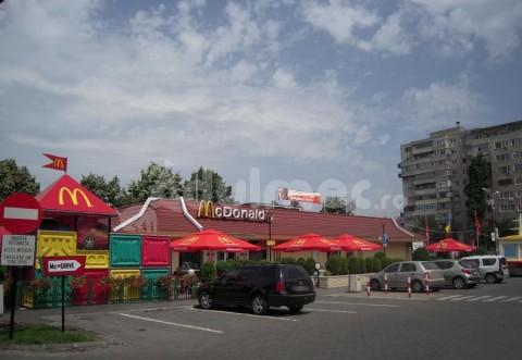 PROIECTIL DE RĂZBOI, descoperit sub restaurantul McDonald's Nord din Ploiești