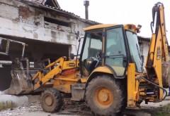 Imagini de la DEMOLAREA Hipodromului Ploiești VIDEO