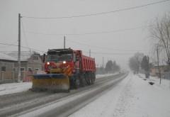 Niciun drum blocat, in Prahova. Se lucreaza intens la deszapezirea drumurilor judetene