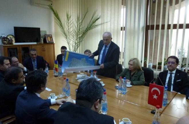 GALERIE FOTO/ Mircea Cosma a primit vizita ambasadorului Turciei in Romania, Osman Koray Ertaş