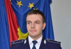 Georgian Drăgan, polițist al IPJ Prahova, a ajuns purtătorul de cuvânt al Poliției Române