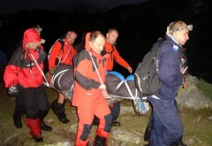 Turişti blocaţi în Masivul Bucegi timp de ŞASE ORE