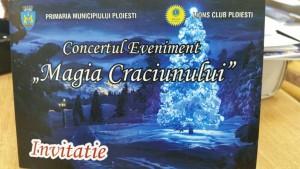 """Primăria Ploiești organizează concertul """"MAGIA CRĂCIUNULUI"""". Află cine va cânta"""