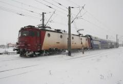 Trenuri SUSPENDATE din cauza ninsorilor