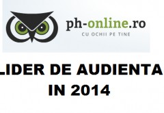 PH-ONLINE.RO, lider de audienta in 2014. Va multumim!