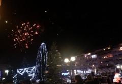 Revelion 2015: Artificii Campina
