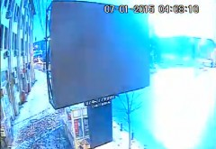La un pas de DEZASTRU! Vezi IMAGINI VIDEO cu meteoritul care a explodat deasupra Ploiestiului