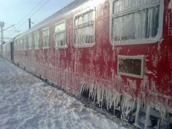 Trenurile de călători au întârzieri din cauza GERULUI