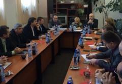 Mircea Cosma s-a întâlnit cu mai mulţi primari din Prahova. Ce au discutat