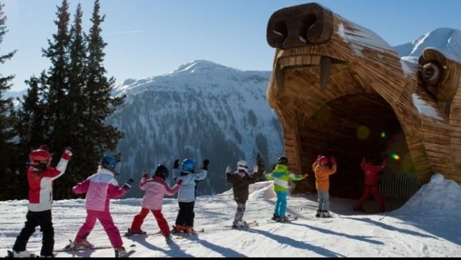 Sejur in Austria: Unde să-ţi duci copiii la schi în vacanţa de iarnă